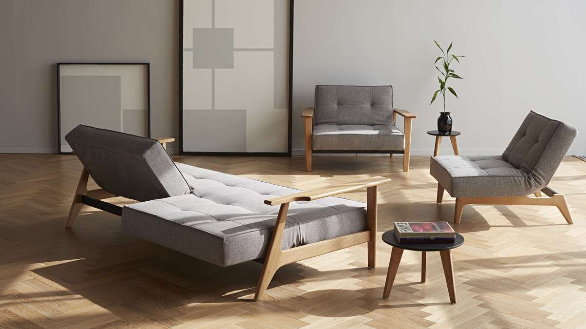 SPLITBACK FREJ SOFA EIK FOTEL INNOVATION LIVING