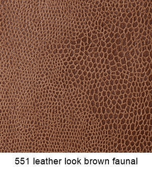 551 Leather Look Brown Fanual