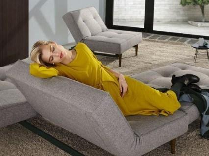SPLITBACK STYLETTO sofa z funkcją spania INNOVATION