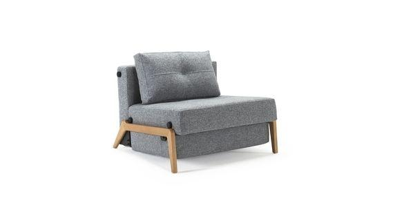 CUBED 90 WOOD sofa rozkładana INNOVATION