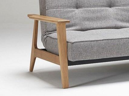 SPLITBACK FREJ sofa z funkcją spania INNOVATION