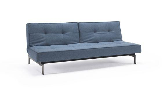 SPLITBACK CHROM sofa z funkcją spania INNOVATION